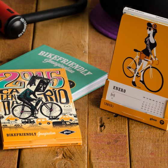 Calendario Bikefriendly Imagination 2015