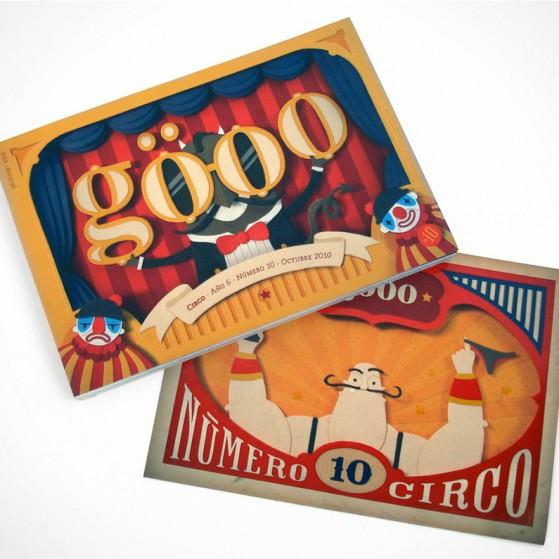 Göoo Magazine #10 – «Circo»